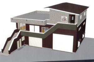 新社屋パース図